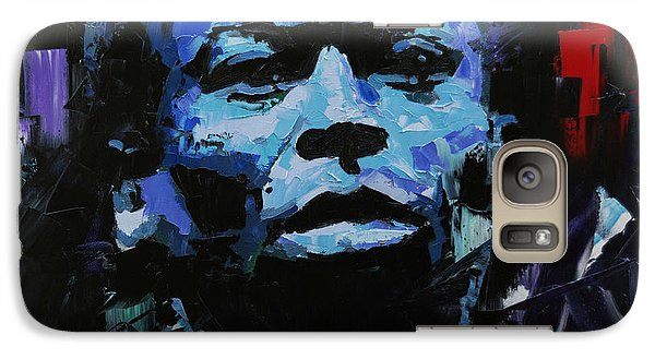 Galaxy Case featuring the painting Miles Davis by Richard Day