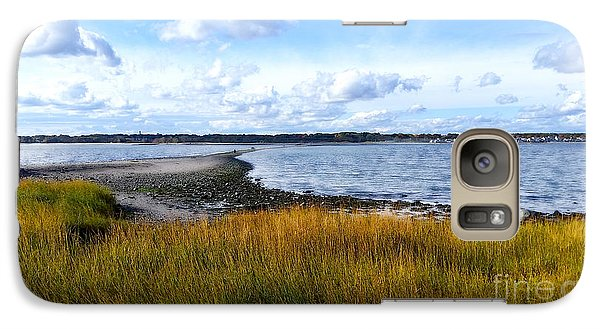 Galaxy Case featuring the photograph Milford Island by Raymond Earley