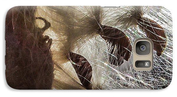 Milkweed Seed Burst Galaxy S7 Case
