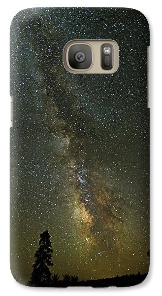 Galaxy Case featuring the photograph Milky Way From Central Oregon by Angie Vogel