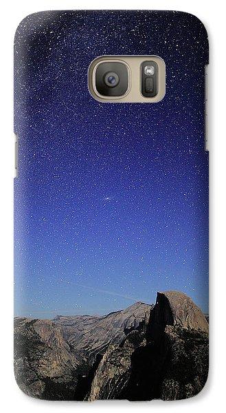 Milky Way Over Half Dome Galaxy S7 Case