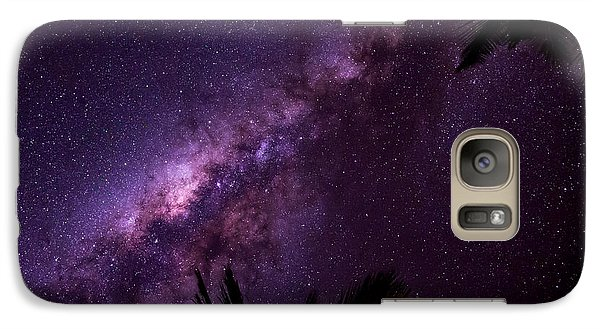 Galaxy Case featuring the photograph Milky Way Over Mission Beach Narrow by Avian Resources