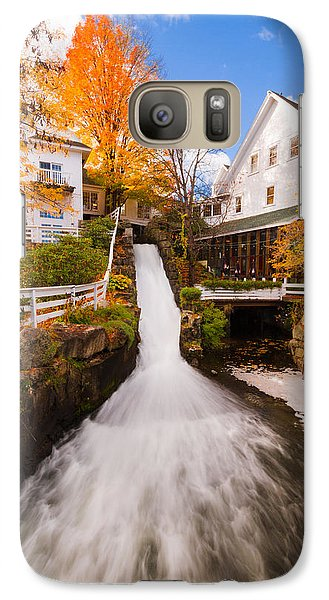 Galaxy Case featuring the photograph Mill Falls by Robert Clifford