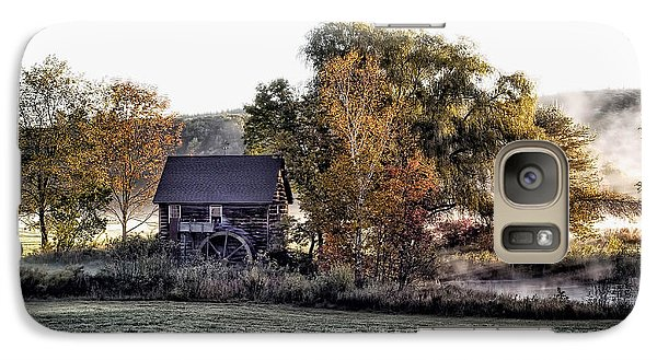 Galaxy Case featuring the photograph Mill In The Meadow by Richard Bean