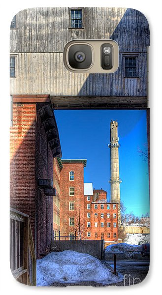 Galaxy Case featuring the photograph Mill Yard by David Bishop