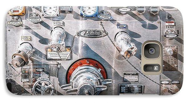 Truck Galaxy S7 Case - Milwaukee Fire Department Engine 27 by Scott Norris