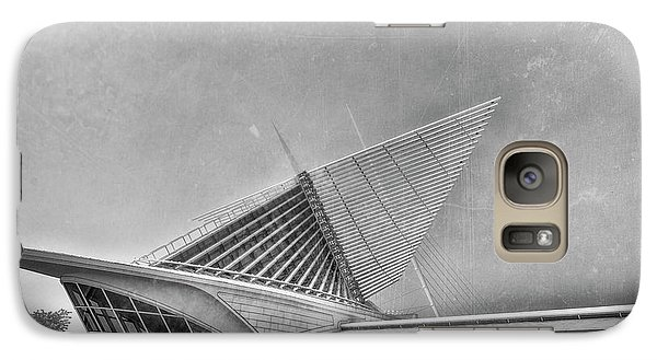 Galaxy Case featuring the photograph Milwaukee Museum Of Art Special 2 by David Haskett