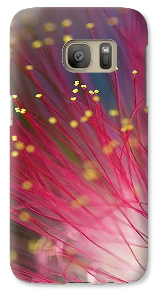Galaxy Case featuring the photograph Mimosa Bloom by Dan Wells