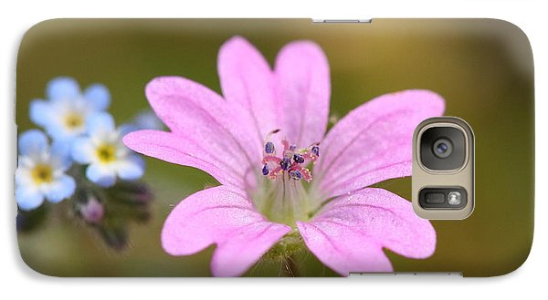 Galaxy Case featuring the photograph Minature World by Richard Patmore