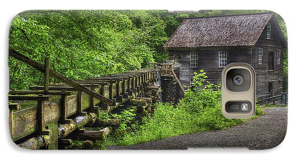 Galaxy Case featuring the photograph Mingus Mill 2 Mingus Creek Great Smoky Mountains Art by Reid Callaway