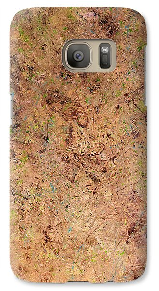 Galaxy Case featuring the painting Minimal 7 by James W Johnson