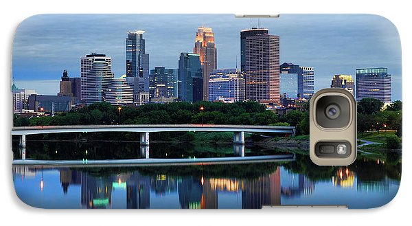 Minneapolis Reflections Galaxy S7 Case