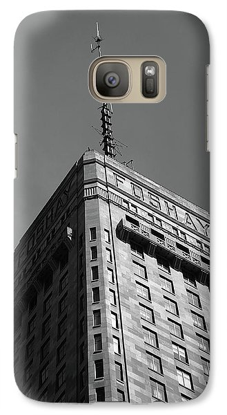 Galaxy Case featuring the photograph Minneapolis Tower 6 Bw by Frank Romeo