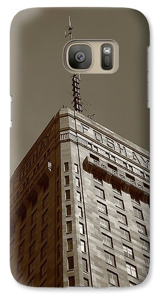 Galaxy Case featuring the photograph Minneapolis Tower 6 Sepia by Frank Romeo