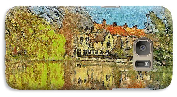 Minnewater Lake In Bruges Belgium Galaxy S7 Case