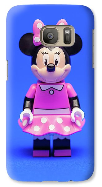 Mouse Galaxy S7 Case - Minnie Mouse by Samuel Whitton