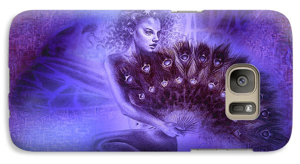 Galaxy Case featuring the painting Mirabella by Ragen Mendenhall