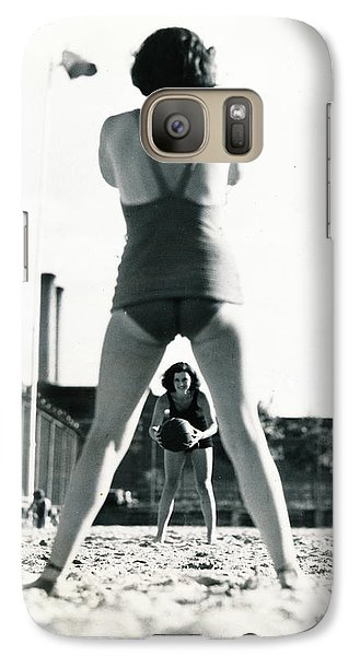 Galaxy Case featuring the photograph Miramar Pool, 1932 by Cole Thompson