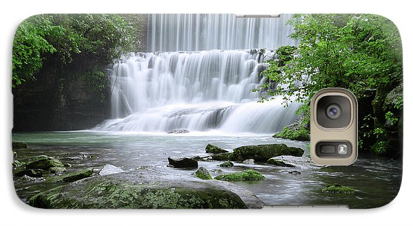 Galaxy Case featuring the photograph Mirror Lake by Renee Hardison