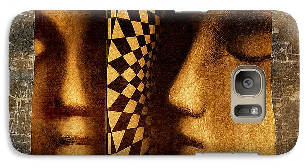 Galaxy Case featuring the photograph Mirror Mirror by Jeff  Gettis