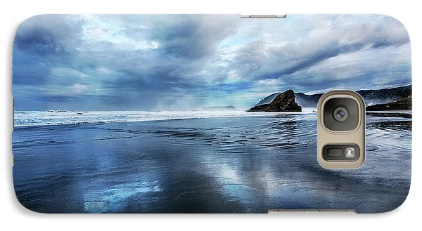 Galaxy Case featuring the photograph Mirror Of Light by Debra and Dave Vanderlaan