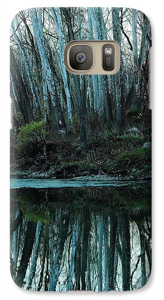 Galaxy Case featuring the photograph Mirrored by Bruce Patrick Smith