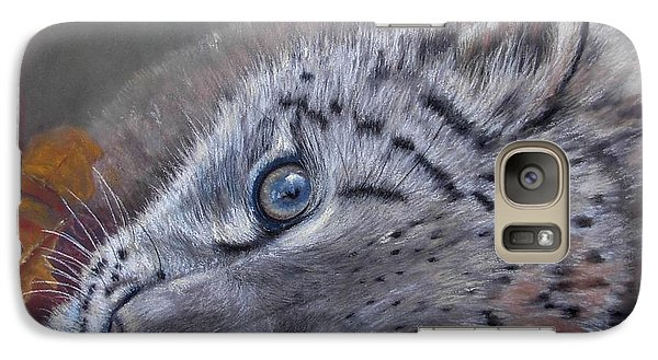 Galaxy Case featuring the painting Mirucha In Fall by Ceci Watson