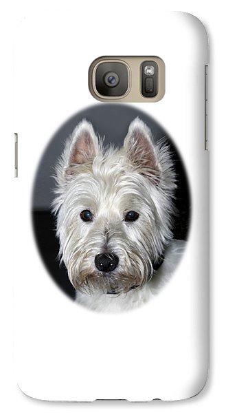 Mischievous Westie Dog Galaxy S7 Case