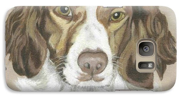 Galaxy Case featuring the painting Miss Abby by Carol Wisniewski