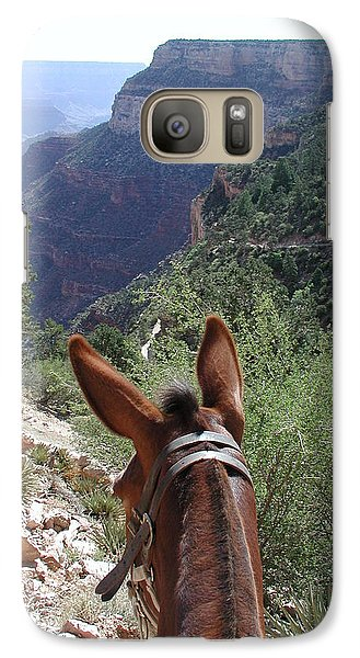 Galaxy Case featuring the photograph Miss Ann  by Nancy Taylor
