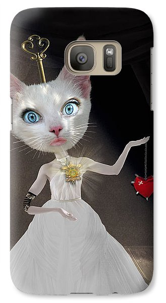 Miss Kitty Galaxy S7 Case by Juli Scalzi