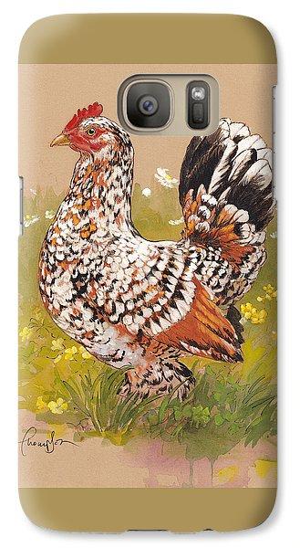 Miss Millie Fleur Galaxy S7 Case by Tracie Thompson