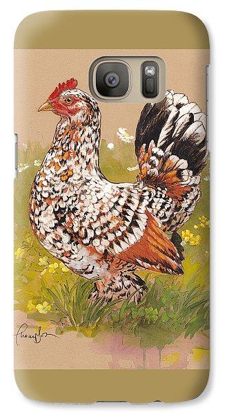 Miss Millie Fleur Galaxy S7 Case
