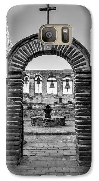 Swallow Galaxy S7 Case - Mission Gate And Bells #3 by Stephen Stookey