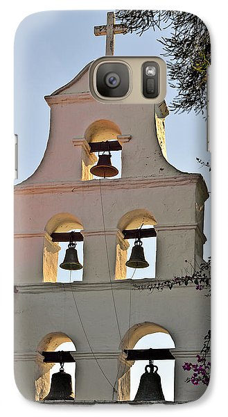 Galaxy Case featuring the photograph Mission San Diego De Alcala Bell Tower by Christine Till