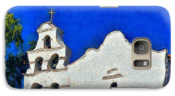 Galaxy Case featuring the photograph Mission San Diego De Alcala by Christine Till