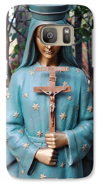 Galaxy Case featuring the photograph Mission San Fernando Rey De Espana by Kyle Hanson