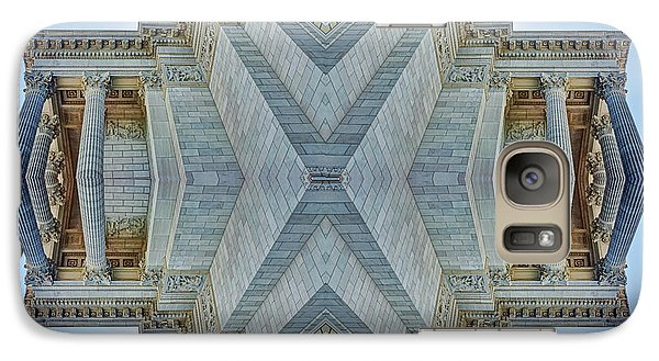Galaxy Case featuring the photograph Missouri Capitol - Abstract by Nikolyn McDonald
