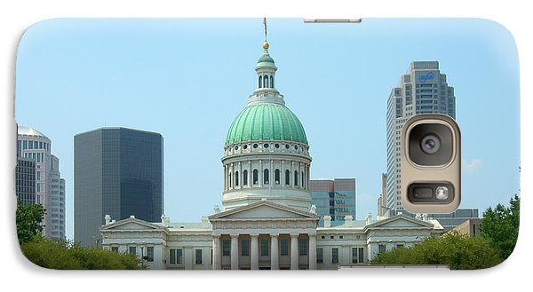 Capitol Building Galaxy S7 Case - Missouri State Capitol Building by Mike McGlothlen