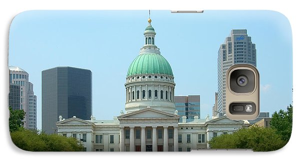 Galaxy Case featuring the photograph Missouri State Capitol Building by Mike McGlothlen