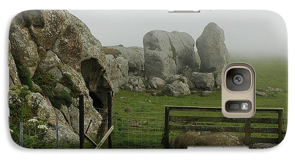 Galaxy Case featuring the photograph Mist And Mystery by Dianne Levy