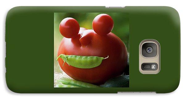 Mister Tomato Galaxy S7 Case by Yulia Kazansky