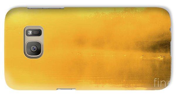 Misty Gold Galaxy S7 Case by Tatsuya Atarashi