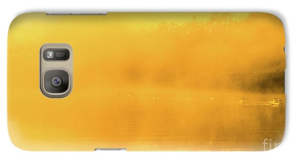 Misty Gold Galaxy S7 Case