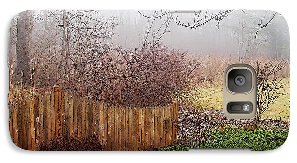 Galaxy Case featuring the photograph Misty Morn by Betsy Zimmerli