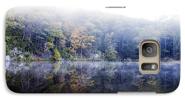 Galaxy Case featuring the photograph Misty Morning At John Burroughs #2 by Jeff Severson