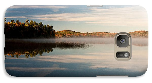 Galaxy Case featuring the photograph Misty Morning by Brent L Ander