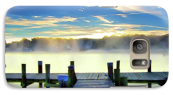 Galaxy Case featuring the photograph Misty Morning On Rock Creek by Brian Wallace