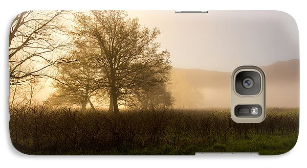 Galaxy Case featuring the photograph Misty Morning by Rebecca Hiatt