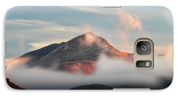 Galaxy Case featuring the photograph Misty Mountain by Grant Glendinning